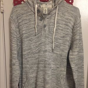NWOT-Men's Knitted hooded sweater>H&M<(M)